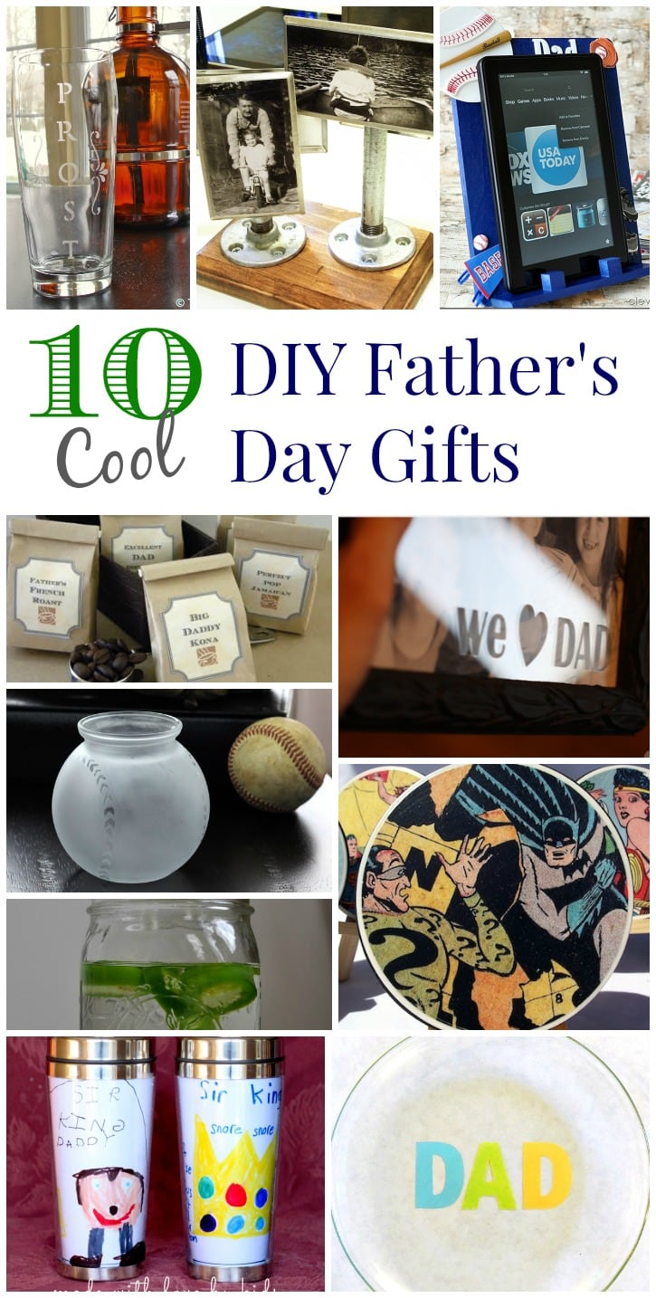 10 Cool DIY Father's Day Gifts
