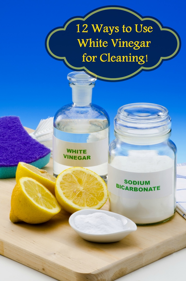 Ways to Use White Vinegar for Cleaning