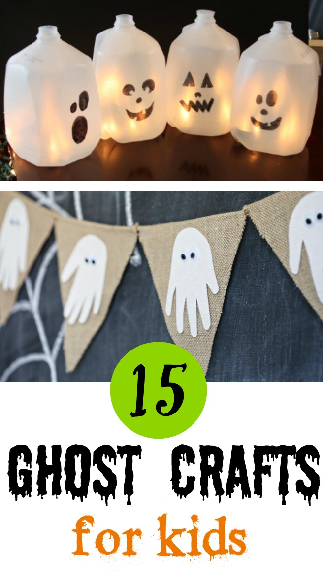 15 Halloween Ghost Crafts for Kids - Mom Foodie