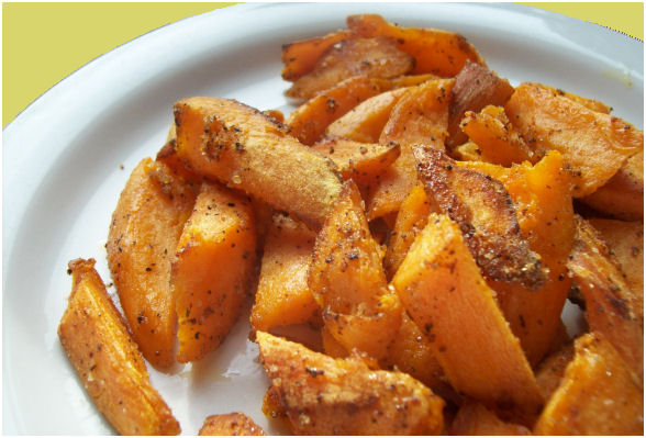 Pan Fried Sweet Potatoes Recipe