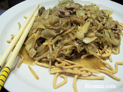 Pork Chow Mein Recipe | Easy Pork Chow Mein Recipe Using Tenderloin