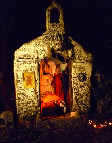 Rhode island halloween display church