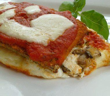 low fat eggplant lasagne recipe