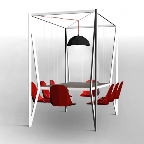 Swingset Dining Table