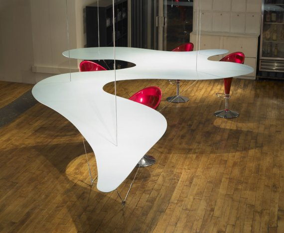 Delicieux Unusual Suspended Dining Table