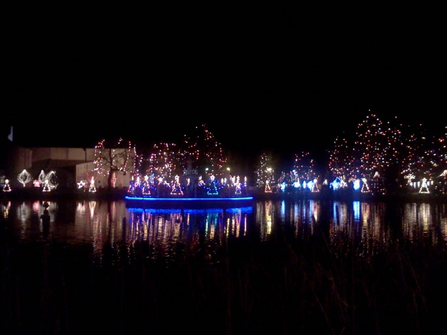 La Salette Shrine Christmas lights
