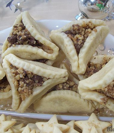 chocolate walnut trinity cookies