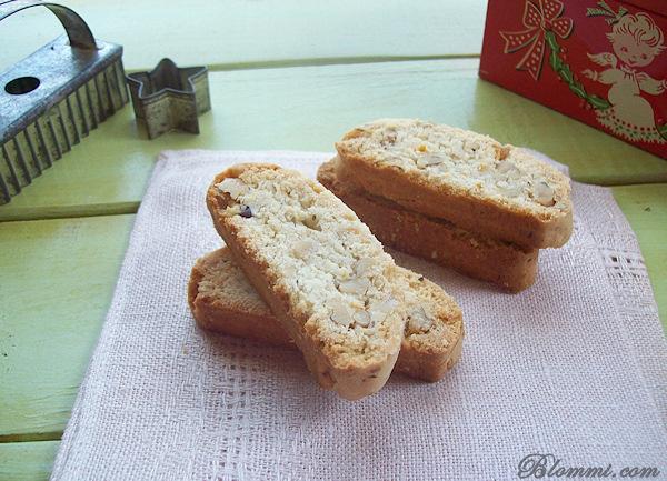 lemon walnut biscotti cookie recipe