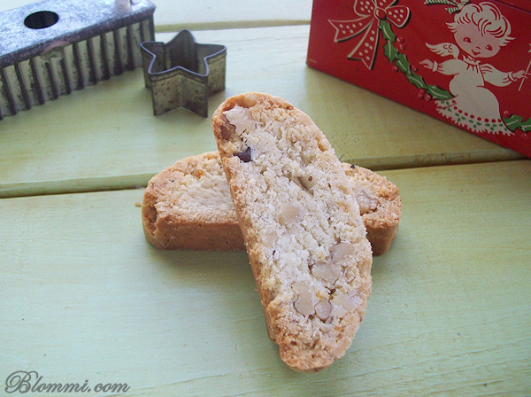 lemon walnut biscotti recipe