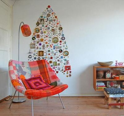 Beautiful Alternatives for Those Without Space for a Christmas Tree