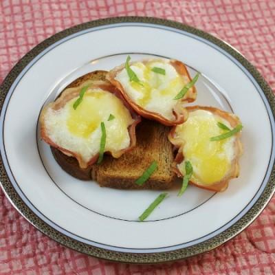 Pancetta Egg Cups : Italian Breakfast Recipe