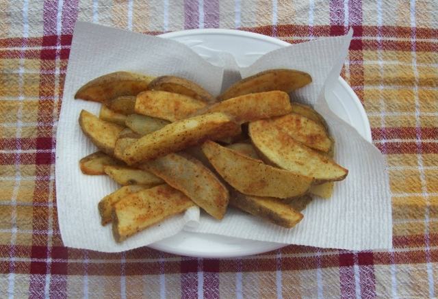 baking fries in the oven