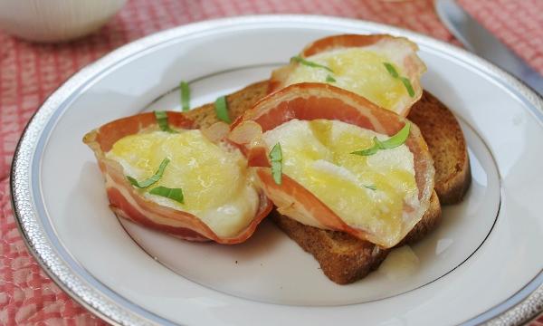 pancetta egg cups recipe
