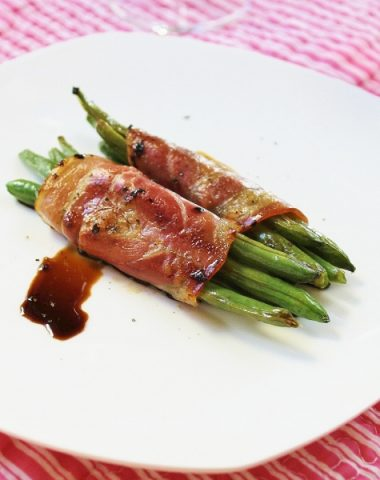 green bean pancetta pockets appetizer recipe