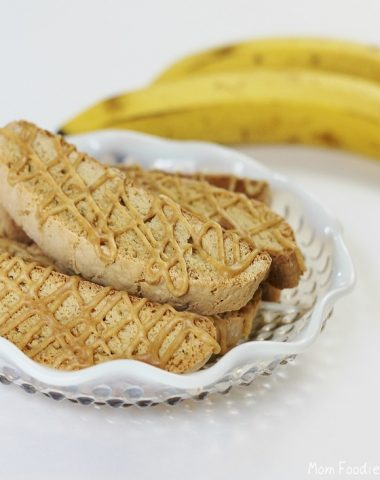 peanut butter banana biscotti recipe