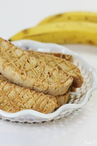 peanut butter banana biscotti recipe