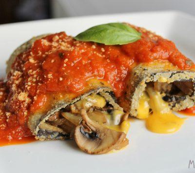stuffed eggplant meatless