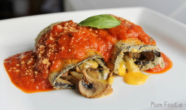 stuffed eggplant meatless