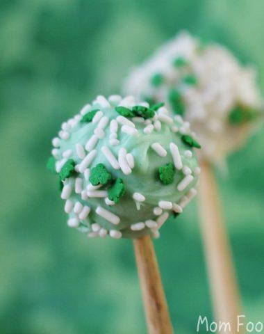 St Patricks Day cocktail balls