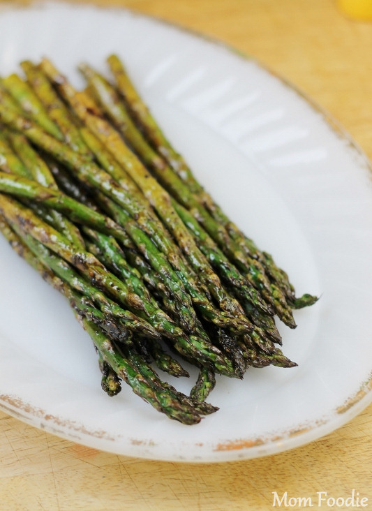 grilled balsamic asparagus recipe