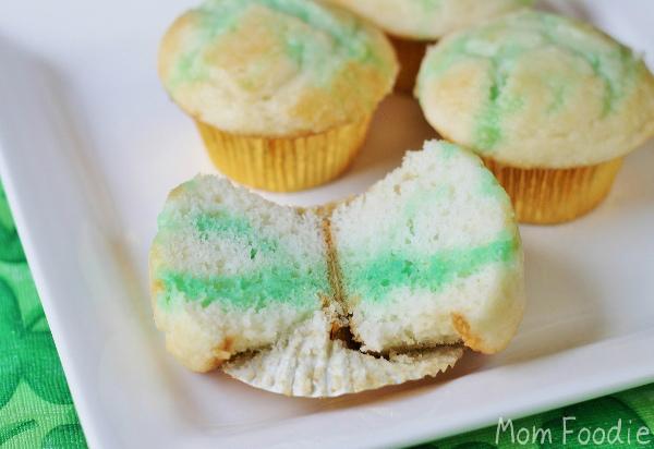 St Patrick's day Trick Leprechaun poke cakes