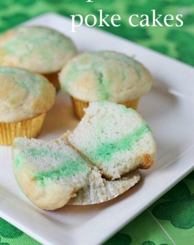 leprechaun poke cakes recipe