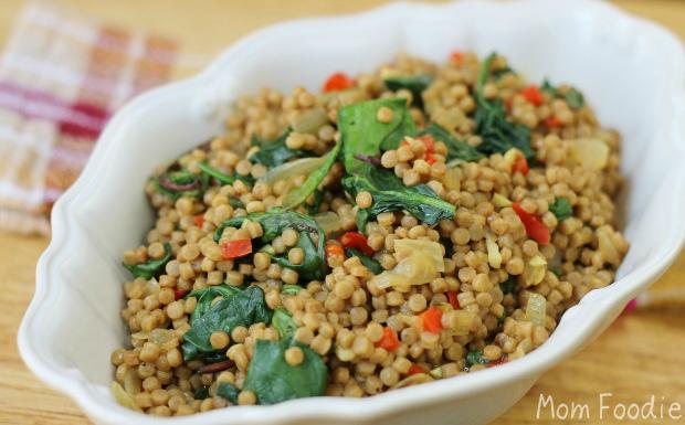 whole wheat pearl couscous recipe