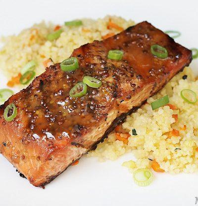 maple mustard salmon recipe