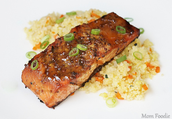 maple mustard salmon recipe