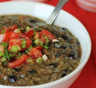 Black Bean and Quinoa Soup: Gluten-Free Recipe