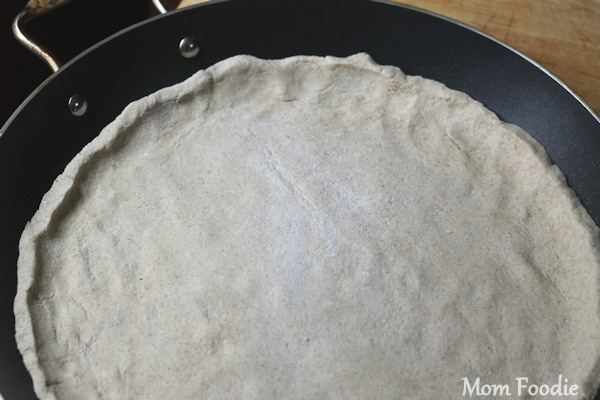 oatmeal pizza dough