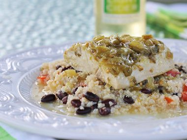 slasa verde fish - easy recipe