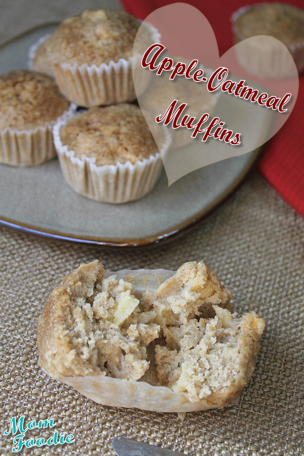 Apple Oatmeal Muffins: Gluten Free Muffin Recipe