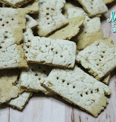 bean crackers - gluten free white bean crackers