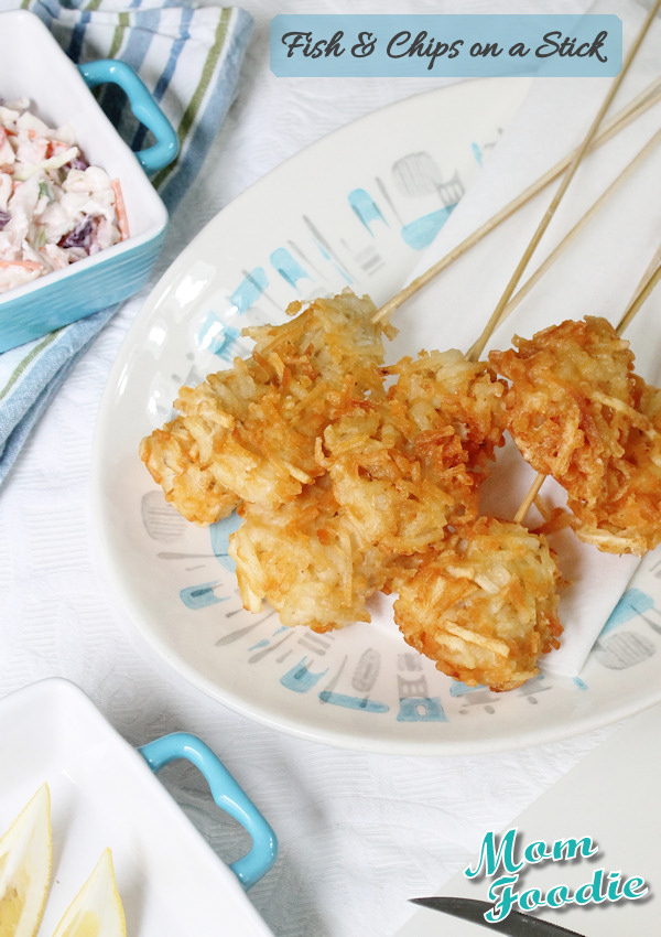 Fish & Chips on-a-stick recipe
