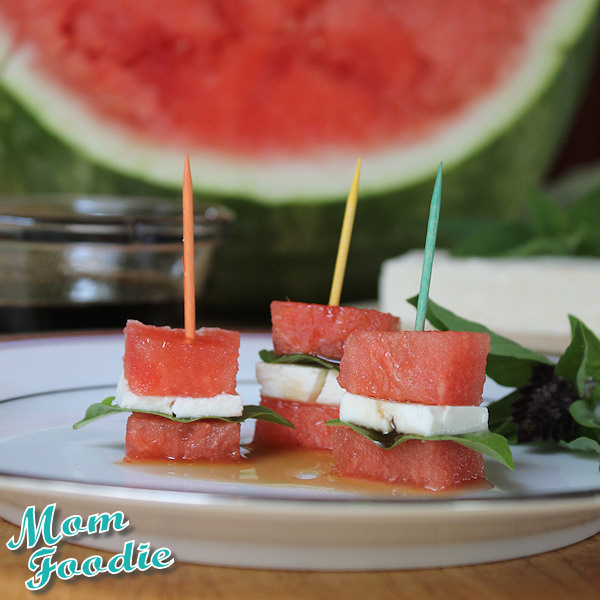 watermelon feta appetizer