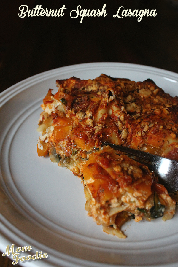 Butternut Squash Lasagna Recipe - Vegetarian Comfort Food