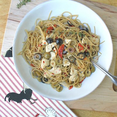 Zesty Chicken and Olive Pasta: Easy Recipe