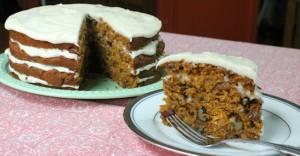 pumpkin carrot cake feature