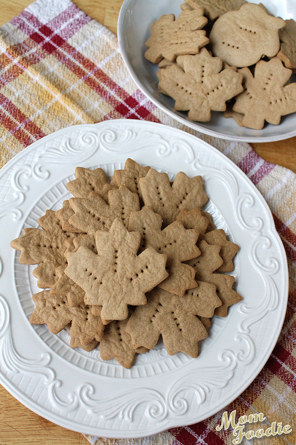 whole wheat maple graham crackers