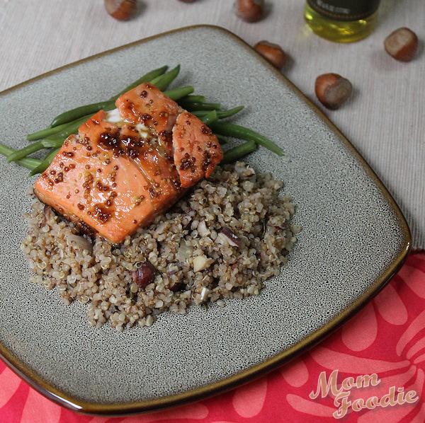 Hazelnut Toasted Quinoa Recipe with White Truffle Oil