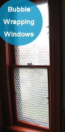 Bubble Wrap As Insulation For Windows