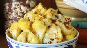 lemon curry cauliflower feature