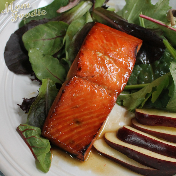orange whiskey salmon