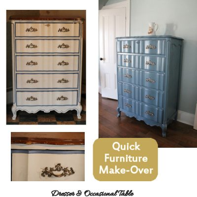 Quick & Easy Furniture Make-Overs with Spray Paint