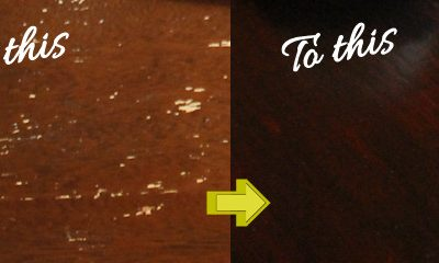 How to Refinish a Table Top the Easy Way
