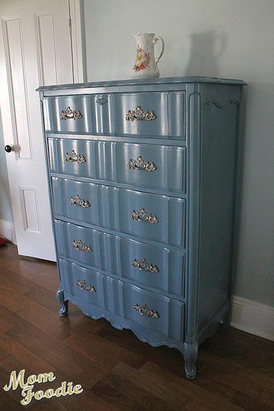 slate blue dresser