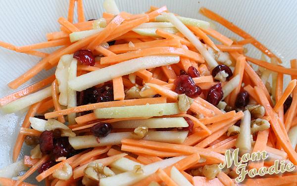 Apple-Cranberry-Walnut Sweet Potato Salad
