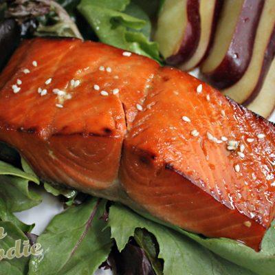 Spiked! Orange Salmon
