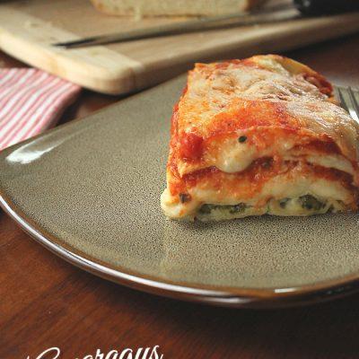 Asparagus Chicken Lasagne